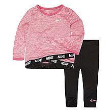 61f3f02aaa Nike F18 Bts Toddler Girl Flow 3 2 pc Legging Set Toddler Girls JCPenney