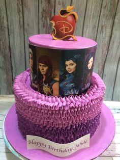 Buttercream Descendants themed cake                                                                                                                                                      More