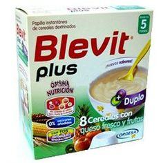 BLEVIT Plus Duplo 8 Cereales con Queso Fresco y Frutas 600gr.