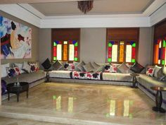 Salons Marocains Archives - Page 8 of 39 - Espace Deco Moroccan Design, Moroccan Decor, Moroccan Style, Dubai Houses, Interior And Exterior, Interior Design, Interior Ideas, Islamic Decor, Oriental Decor