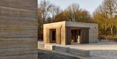 #Architecture in #Germany - #Pavilions by Max Dudler, ph Stefan Müller