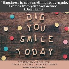 Online College, Online Courses, Your Smile, Things To Come, Quotes, Quotations, Qoutes, Quote, Shut Up Quotes