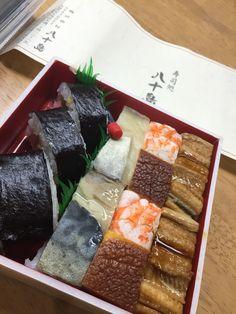 押し寿司( ̄(エ) ̄)v