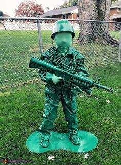 Plastic Green Army Man Toy   2018 Halloween Costume Contest Toys Halloween  Costumes, Halloween Costume