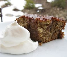 """Arabian Date Cake ... a wonderful recipe from this blog, """"Made by Nicole""""."""