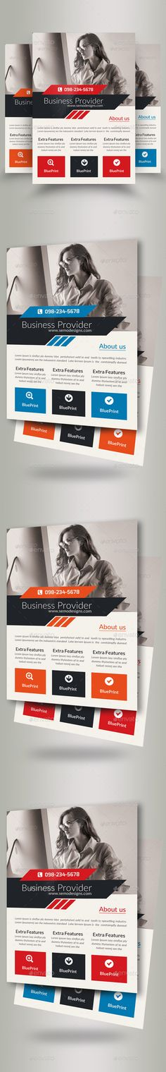 #Business Corporate Agency #Flyer - Corporate Flyers Download here: https://graphicriver.net/item/business-corporate-agency-flyer/19624332?ref=alena994