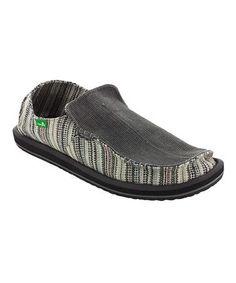 37b601302 Look at this Black Funk Shway Slip-On Shoe - Men by Sanuk