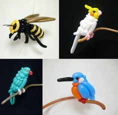 Forget your run-of-the-mill cutesy balloon dogs and crowns twisted at kids birthday parties, Japanese artist Masayoshi Matsumoto (previously) elevates the inflated craft of balloon animals to an entirely different level. The Japanese artist uses a multitude of balloon colors and shapes to sculpt