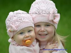 Knitting Pattern  Lacy Waves Hat from Baby to Adult sizes