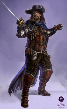 The Musketeer update #2 by DavidGalopim.deviantart.com on @DeviantArt