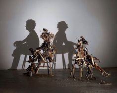 Not street graffiti, but incredible shadow art…