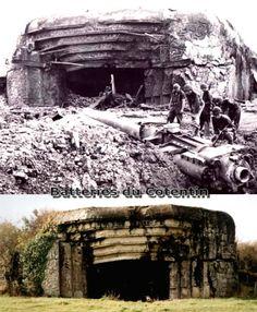 Battery St Marcouf Matching 1944 / 2012