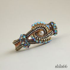 seed bead ring tutorials - Google Search