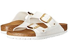 Birkenstock Arizona White Studs - Zappos.com Free Shipping BOTH Ways
