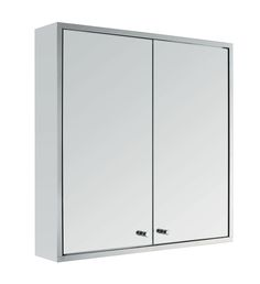 Bathroom wall cupboard mirror