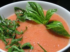 Gazpacho andaluz (typical Spanish food)
