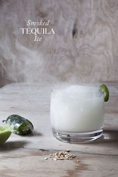 Smoked Tequila Ice | Swooned