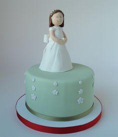 Tarta  de comunion para Divina | Sweet Mary