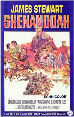 James Stewart, SHENANDOAH, Movie Poster
