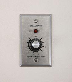 AI Commercial Thermostat For Steam Showers #Saunas.com