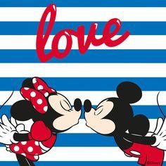 Mouse Love by Mickey & Friends Mini Y Mickey, Mickey And Minnie Love, Mickey Mouse And Friends, Arte Do Mickey Mouse, Mickey Mouse Clipart, Mickey Minnie Mouse, Disney Princess Pictures, Disney Princess Art, Disney Art