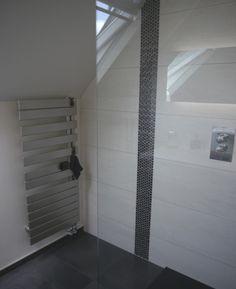Radiateur sèche-serviettes Acova Fassane Spa (Source : Houzz.fr) #secheserviettes #electrique #salledebains