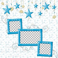 """Layout QP 7C-2 CAFS…..Quick Page, Digital Scrapbooking, Catch A Falling Star Collection, 12"""" x 12"""", 300 dpi, PNG File Format"""