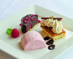 Trio of Desserts / weddings / Trio Of Desserts, Function Room, North Devon, Wedding Desserts, Ice Cream, Weddings, Star, Dining, Food