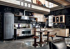 chalkboard kitchen