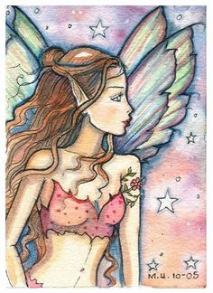 Fairy art by Molly Harrison Fairy Wallpaper, Gothic Fantasy Art, Elves And Fairies, Fairy Pictures, Unicorns And Mermaids, Vintage Fairies, Woodland Fairy, Artwork Images, Beautiful Fairies