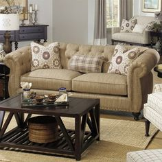 I pinned this Merchant Sofa from the Paula Deen event at Joss and Main!