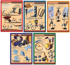 Simple Machines Grade 5 Science Curriculum, Science Resources, Science Activities, Simple Machines, 5th Grades, Anchor Charts, Boy Scouts, Art Lessons, Homeschool