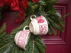 Christmas wreath (from Cherry Hill Cottage)
