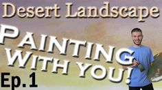 We are starting a brand new painting! For this oil painting series, we are going to be doing a desert landscape. Each week, we will have a voting poll open so that you can participate in this fun painting experience and see how you want this painting to continue. You do not need an account, YouTube account or email address to vote! To vote, please visit: http://paintwithkevin.com/vote.html