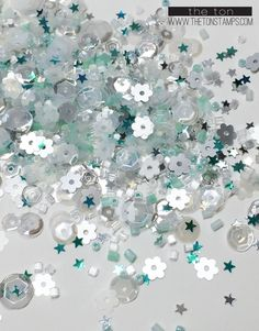 Mint Frosting, Shaker Cards, All That Glitters, Special Guest, Card Stock, Craft Supplies, Sequins, Paper Crafts, Sparkle