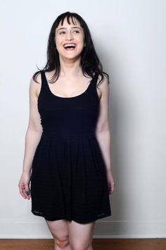 Mara Wilson wears  (Dress )