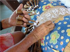 Découpage by Ju: O artesanato brasileiro: a renda de bilro / The Brazilian handicraft: the bobbin lace