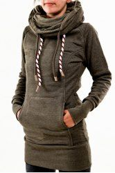Chic Hooded Long Sleeve Star Hoodie For Women