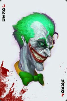 joker by SangHyun Yu on ArtStation. Joker Clown, Joker Dc, Joker And Harley, Harley Quinn, Comic Art, Comic Books, Joker Images, Comic Villains, Poster Boys