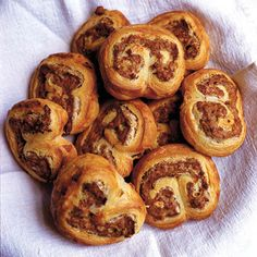 Nigel Slaters sausage danish canape recipe, from Eat christmas appetisers Christmas Canapes, Christmas Party Food, Christmas Recipes, Christmas Foods, Christmas Ideas, Christmas Breakfast, Christmas Cooking, Xmas Party, Christmas 2019