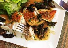 Dorable Mushroom And Chicken Recipes Easy Pan Roasted Chicken Breasts With Morel Mushroom Pan Sauce Recipe throughout [keyword Pan Sauce For Chicken, Roast Chicken Recipes, Morel Mushroom Recipes, Pan Sauce Recipe, Roasted Chicken Breast, Serious Eats, Asparagus Recipe, Pasta, Healthy Dinner Recipes