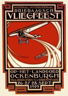 Dutch Airshow Poster 1919
