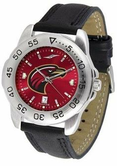 Louisiana-Monroe Warhawks NCAA Mens Sport Anochrome Watch by SunTime. $55.95. AnoChrome Dial Enhances Team Logo And Overall Look. Men. Adjustable Band. Officially Licensed Louisiana Monroe ULM Warhawks Men's Leather Band Sports Watch. Leather Band. This handsome eye-catching Mens Sport AnoChrome Watch with Leather Band comes with a genuine leather strap. A date calendar function plus a rotating bezel/timer circles the scratch resistant crystal. Sport the bold colo...