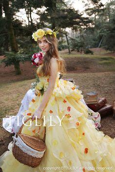 TIGLILY カラードレス c169