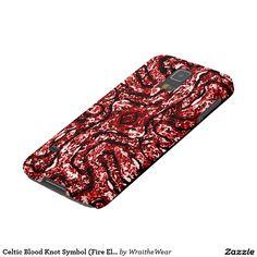 Celtic Blood Knot Symbol (Fire Element) Galaxy S5 Case