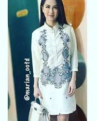1d77574c2c Image result for stylish barong tagalog for women. Karen Catangay