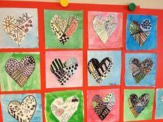 Skapligt Enkelt: Mönstrade hjärtan