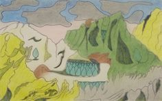 Joseph Yoakum, The Dolomites in North Italy