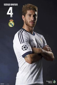 Sergio Ramos the only madridista I love #4 rock