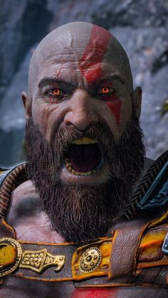 Kratos-God of War wallpaper Kratos God Of War, God Of War Series, Ps Wallpaper, War Tattoo, Joker Art, Gaming Wallpapers, Greek Gods, Tao, Game Art